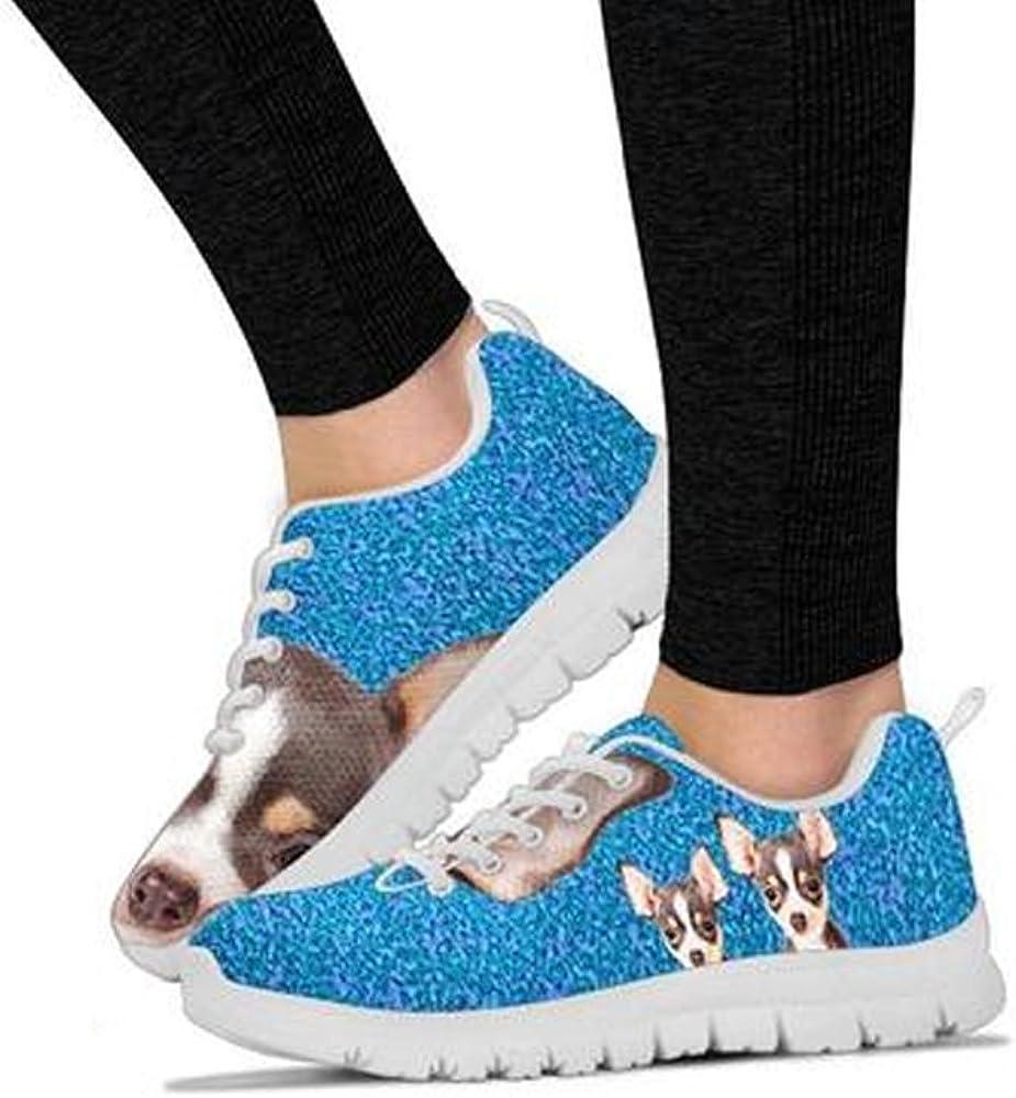 Chihuahua Dog Black Dots Print Running Shoes For Kids-Free Shipping