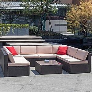 61XsW3BiEML._SS300_ Wicker Patio Furniture Sets