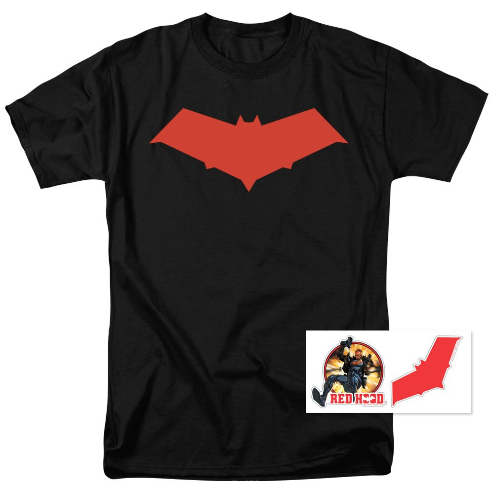 Red Hood Jason Todd DC Comics Superhero T Shirt