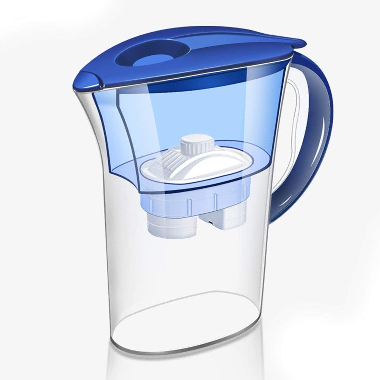JIUY Filtro de agua Jarra hervidor de agua con recarga de cartucho ...