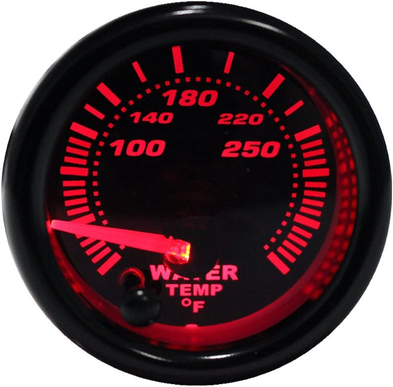 Dewhel Turbo Boost Vacuum Meter 30PSI Pressure Smoke 7 Color LED 52mm 12V Universal Auto Car Gauge Kit Interior Accessory for Honda Acura Mitsubishi Nissan Infiniti Lexus Toyota Scion BRZ etc