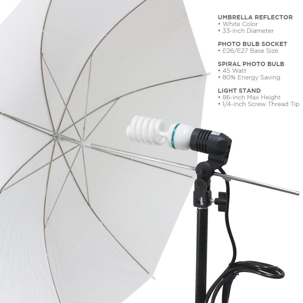 Amazon.com : LimoStudio Continuous Lighting Photo Video Studio Kit ... for Umbrella Photography Lights  70ref
