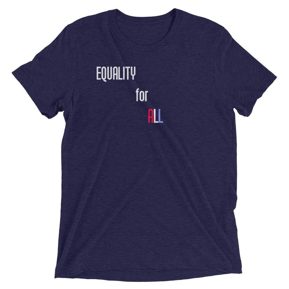 Equality for All Mens Triblend Short Sleeve t-Shirt