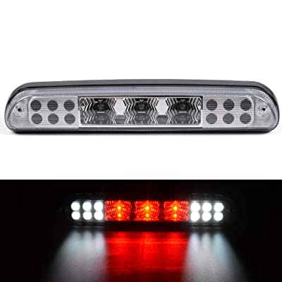 LED 3rd Brake Light Clear Lens 1PCS For Ford F-250 F-350 F-450 F-550 Super Duty 1999-2015 Rear Roof Center Tail Lamps: Automotive