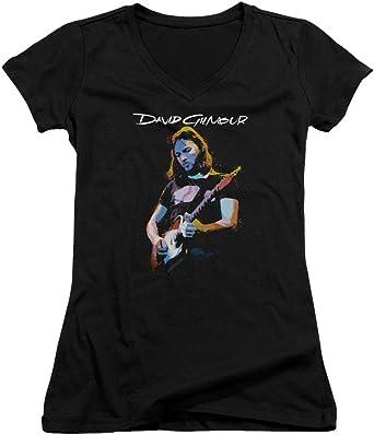 Trevco David Gilmour Guitar Gilmour Toddler T-Shirt Black