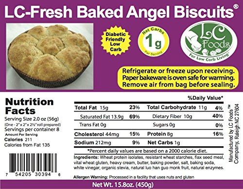 Low Carb Angel Biscuits Fresh Baked Lc Foods All