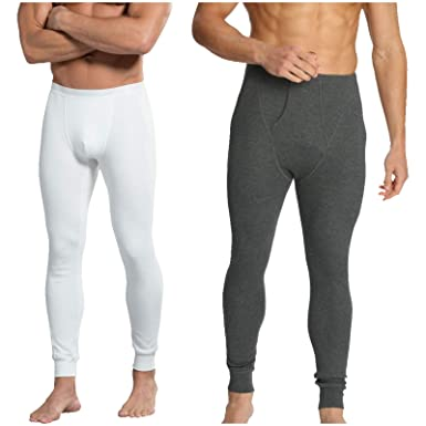 8984b590783d1 Jockey 1 X Men Thermal-Long John 2420-snug Fit-2 Colours-labelfree-Durable  Waistband: Amazon.co.uk: Clothing