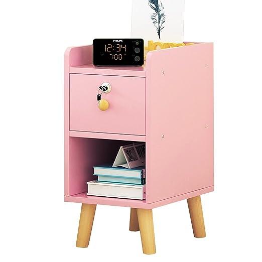LiuJF-Tables/Chair Mesa de Noche Rosa, habitación de niñas Mini ...