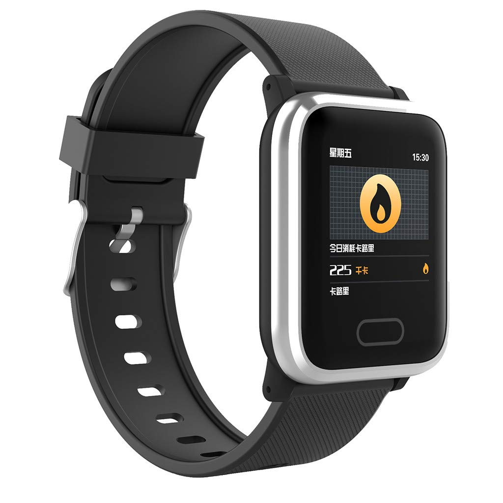 Smart Watch Heart Rate Monitor Bracelet Wristband for iOS Android ...
