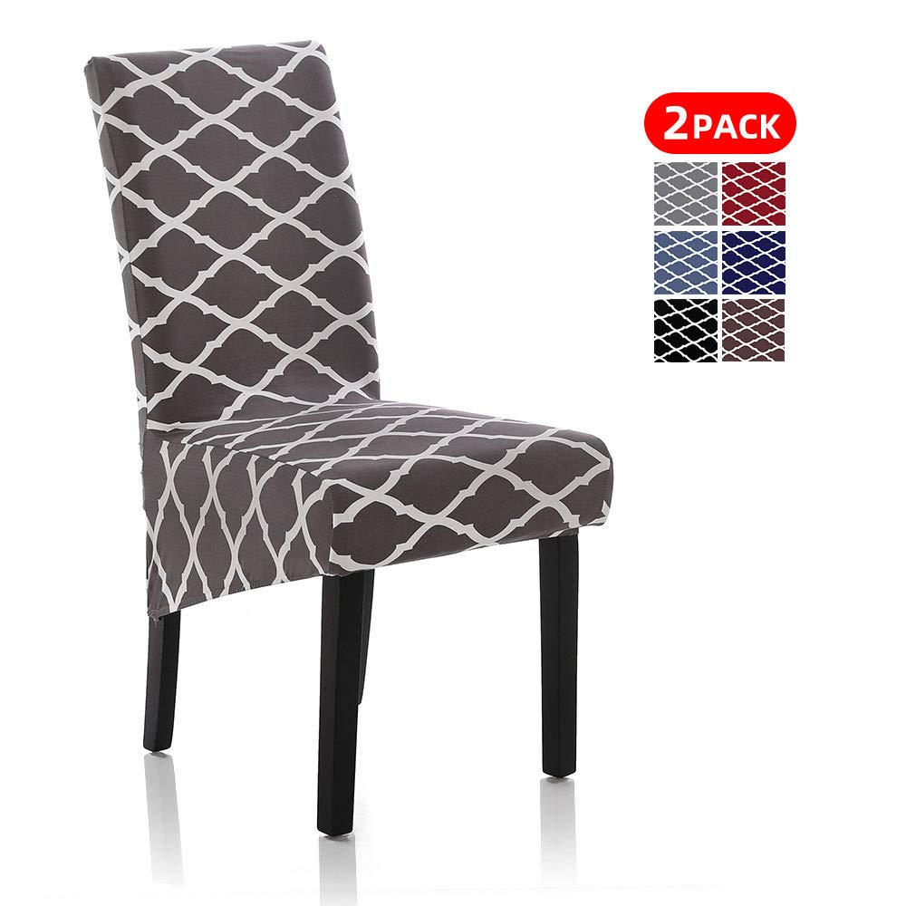 Buy Stretch Dining Chair Slipcovers, Removable Washable Soft