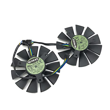 Amazon.com: t128010sh 12 V 0,25 A 75 mm. VGA ventilador para ...