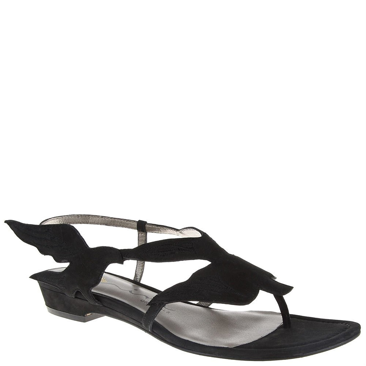 Nina Original Womens Krystl Dress Sandal Black nubuck Size 85