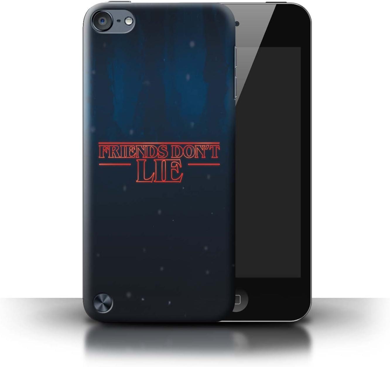 eSwish Carcasa/Funda Dura para el Apple iPod Touch 5 / Serie: Extraña Retro: Amazon.es: Electrónica