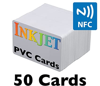 Inyección de tinta tarjetas de PVC con Chip NFC (ntag215 ...