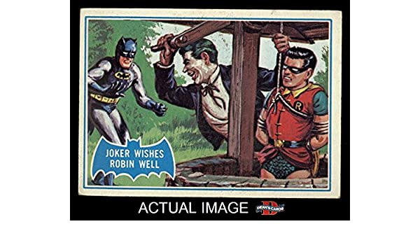 RobinCard Back15 Batman Wishes 1966 Blue Topps Bat The Joker AcR35jL4q