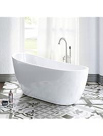 Freestanding bathtubs for Woodbridge 54 modern bathroom freestanding bathtub
