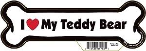 Pet Gifts USA Teddy Bear Dog Bone Magnet