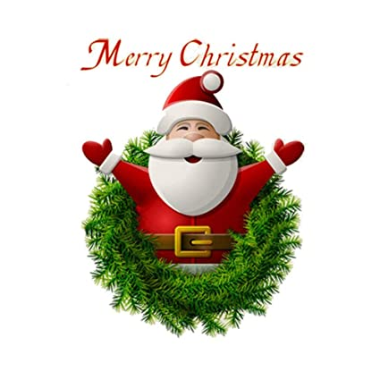 Christmas Stickers.Christmas Windows Stickers Wall Stickers 3d Santa Claus Merry Christmas Decoration Removable Wall Sticker Festive Children Decor Holiday Door Window