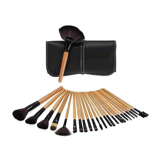 77 opinioni per Anself Professionale Make Up Set- 24 PCS Trucco Cosmetica spazzole di trucco set
