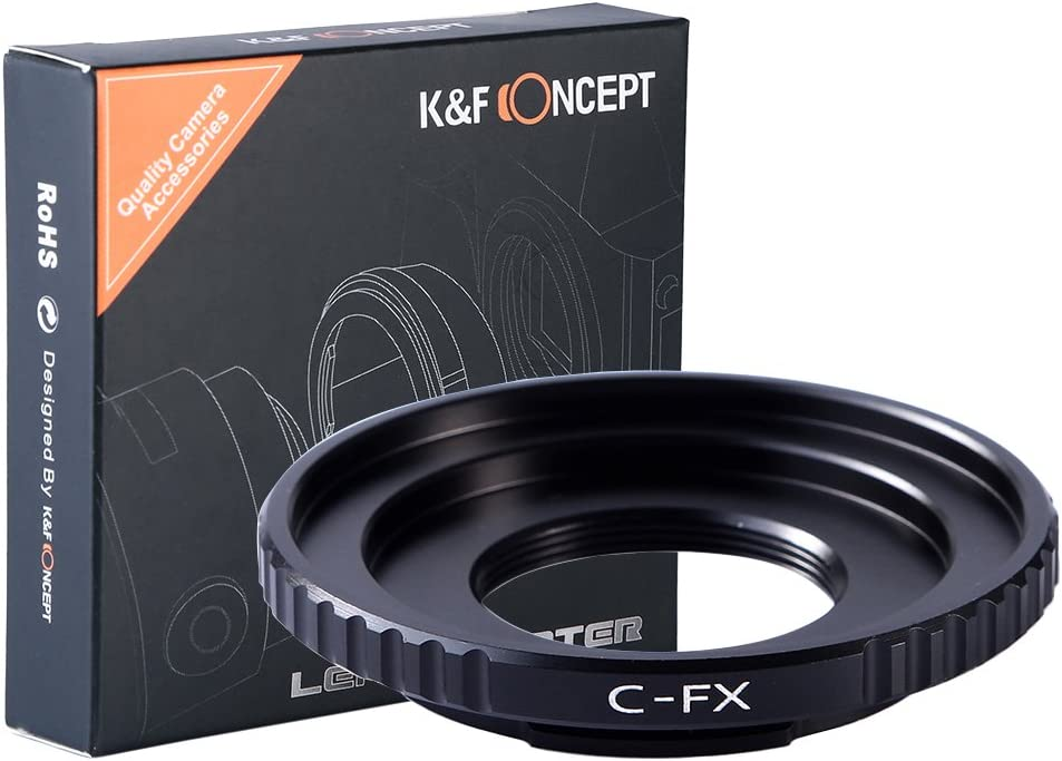 K/&F Concept Adapter for Pentax K Mount Lens to Fujifilm X-T10 X-Pro2 Camera