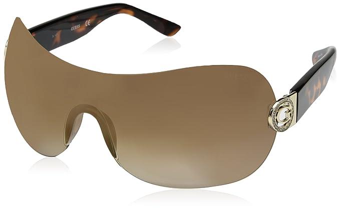 Guess GU7407E, Gafas de Sol Unisex Adulto, (Avana Scura\Marrone Grad