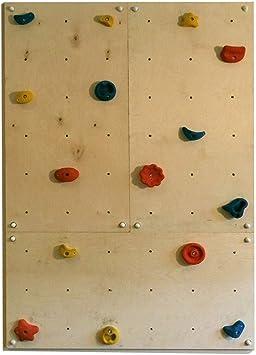 Gartenpirat pared escalada interiores 2,16 m²-Set IW3 - 3 Paneles 15 Presas