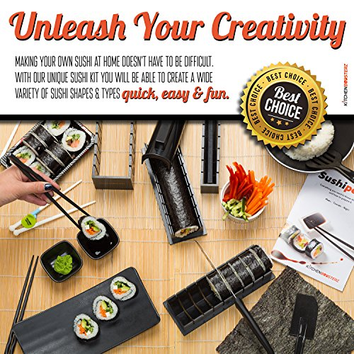 Top 10 Best DIY Homemade Sushi Making Kits with Ingredients 2017-2018 - cover