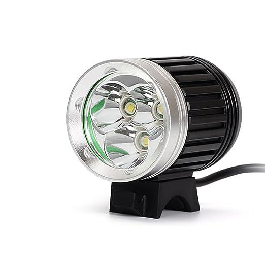 94 opinioni per Kingtop 4200LM CREE XM-L 3*T6 LED Faro per Bici Bicicletta Ciclismo con Batteria