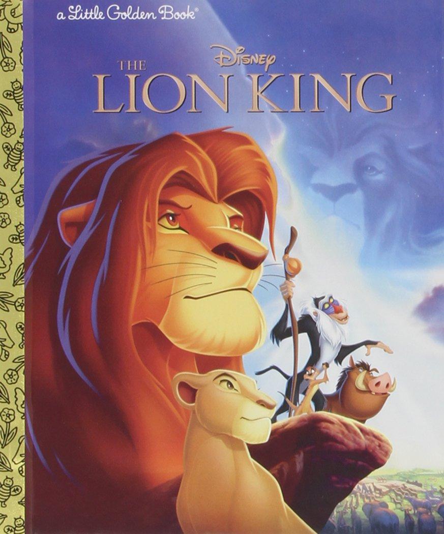 Lion King Little Golden Book