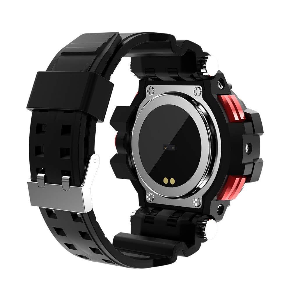 Amazon.com: NOMENI Smart Watch Pedometer Heart Rate Monitor ...
