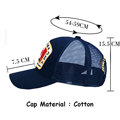 5c6ac140d2e Amazon.com  Maple Leaf Mesh Baseball Cap DSQ Letters Cap Custom Design ICON Logo  Cap Bonnet Homme Dad Hat  Clothing