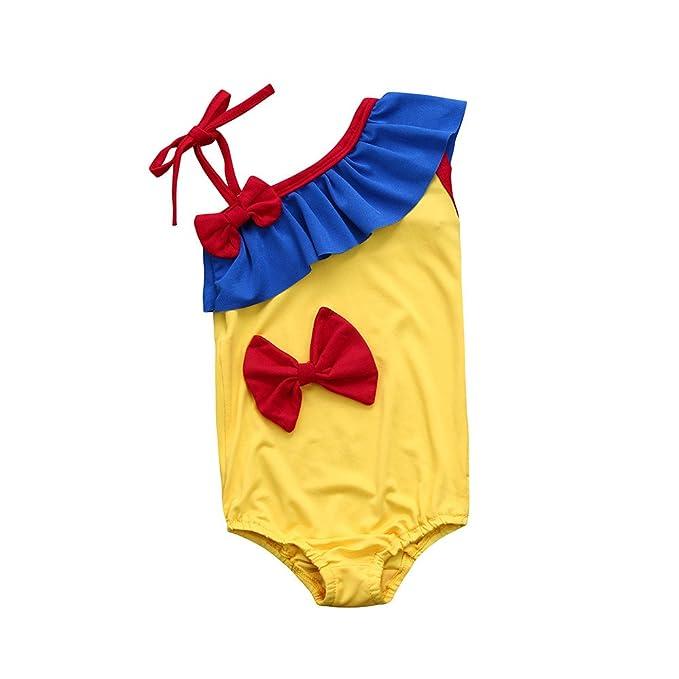 Amazon.com: fartido bebé niña Mickey Mouse traje de baño ...
