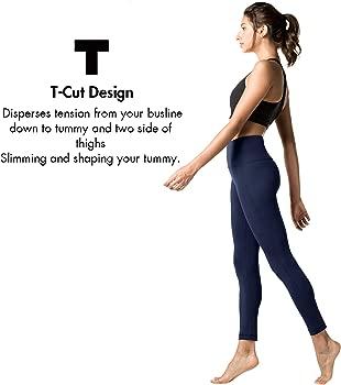 LAPASA Pantalón Deportivo de Mujer PACK de 2 Leggings para Running, Yoga y Ejercicio