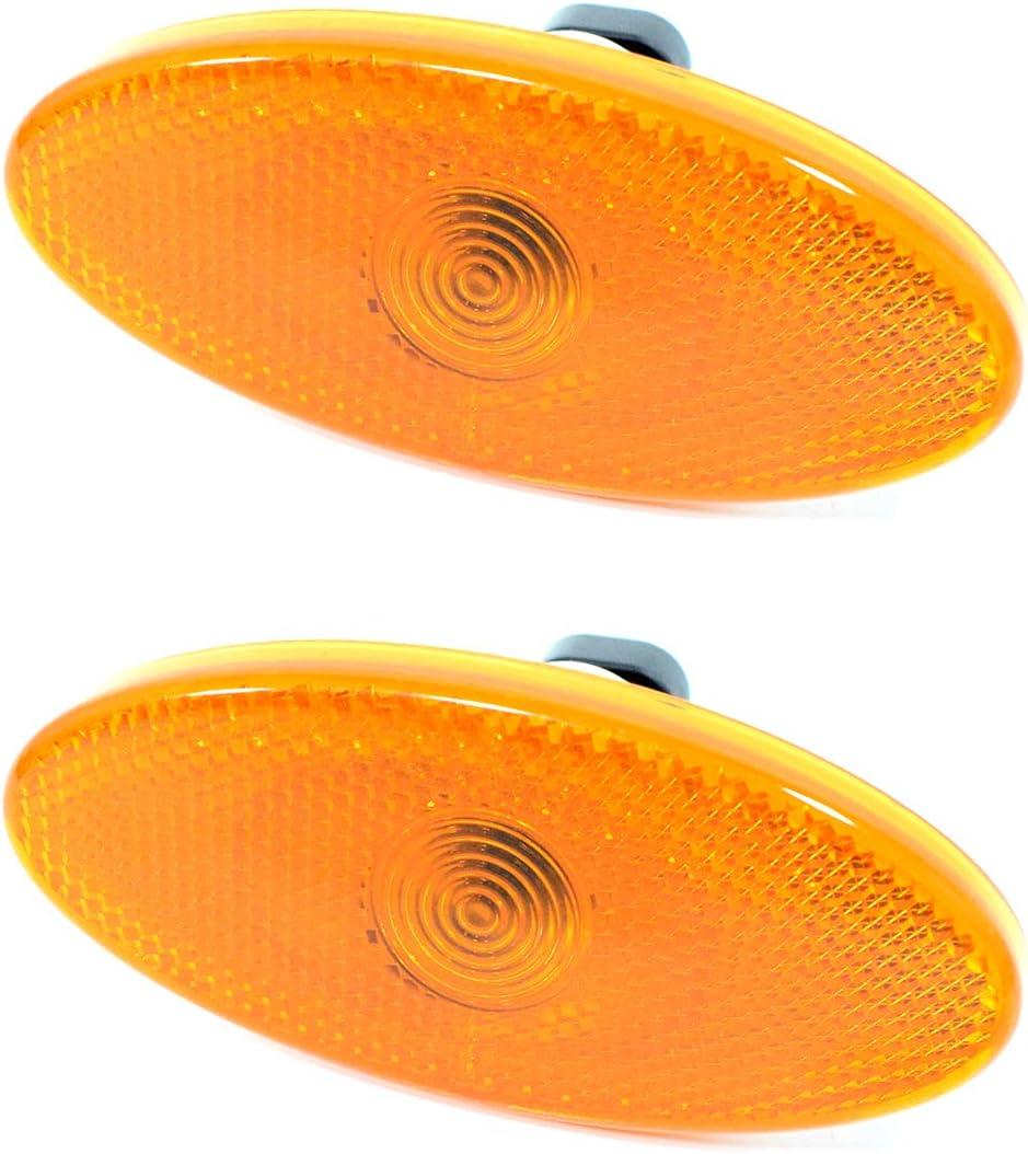 2 x Position Light Side Marker Light I 261 B0000 1R Car