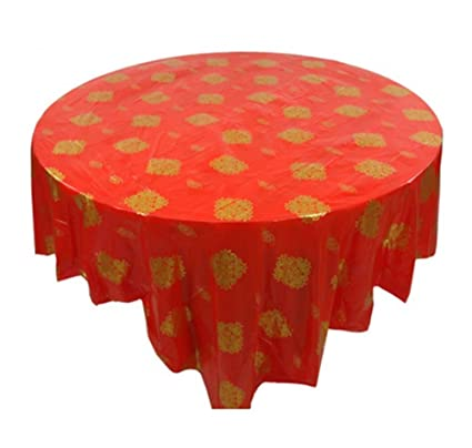 10 Round Table.Set Of 10 Round Table Chinese Style Plastic Tablecloths Home Hotel Tablecloth A1