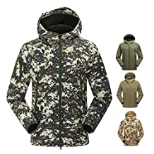 XD-Outdoor Andes BBC jacket-men's Camo windproof soft shell waterproof breathable sport mountaineering