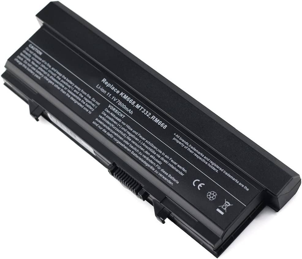 Bay Valley Parts@Replacement Laptop Battery for Dell Latitude E5400 E5410 E5500 E5510 KM742 KM769 WU841 KM771 11.1v 7800mAh 9-Cell