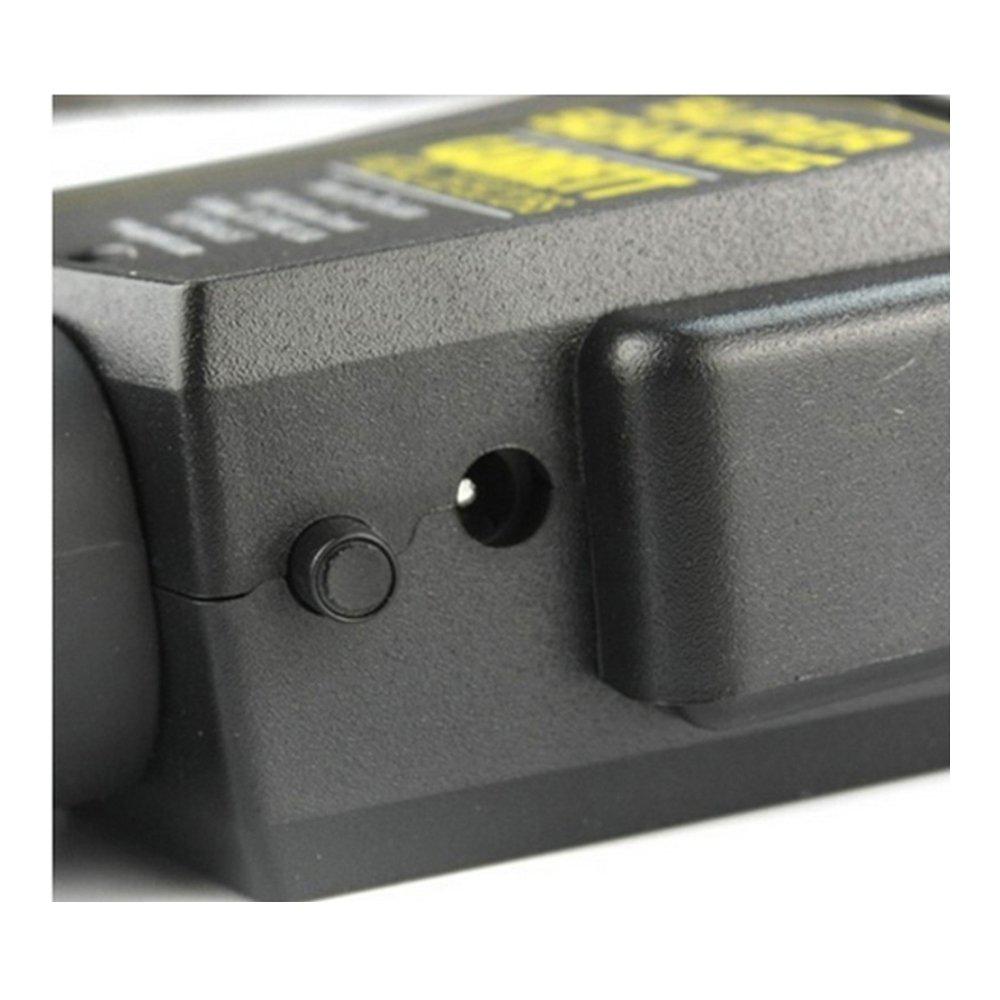 Detector de metales Handheld profesional TecGadgets cuerpo moviepostersdirect escáner con vibrador: Amazon.es: Bricolaje y herramientas