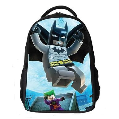 Batman Mochilas Infantiles Mochila Escolar Para Niños De 6-11 Años Para Niños Pequeños,