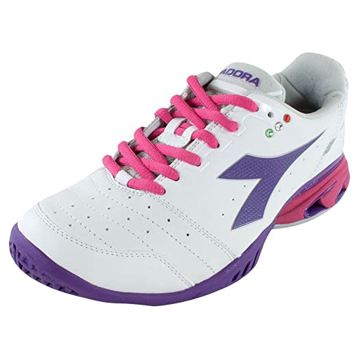 | DIADORA Women`s S Star K III AG Tennis Shoes