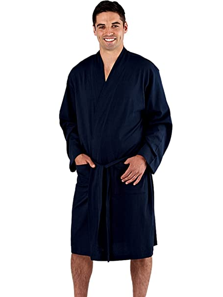 harvey James MN000043 robe Navy Large