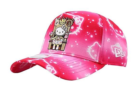 Tokidoki x Hello Kitty Donut Queen Kitty Women s Snapback Hot Pink ... 62b01644e57