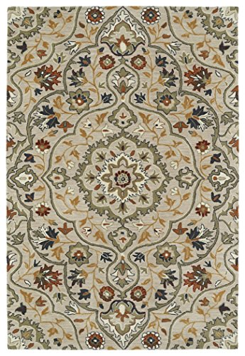 Kaleen Rugs Middleton Collection MID06-107 Mushroom Hand Tufted 8' x 10' Rug