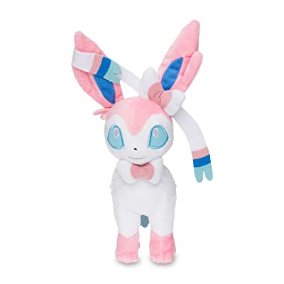 Pokemon Center Original (7-Inch) Plush Doll Sylveon (Nymphia): Toys & Games
