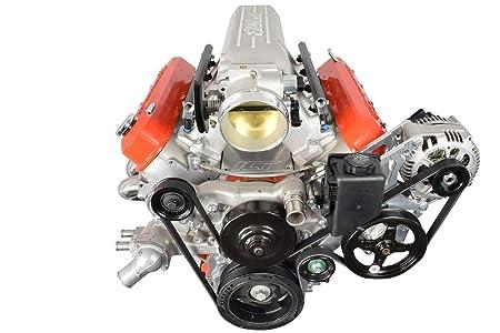 Amazon.com: Corvette LS Alternator & Power Steering Pump Bracket Accessory Kit Turbo LS1 551521X-1: Automotive