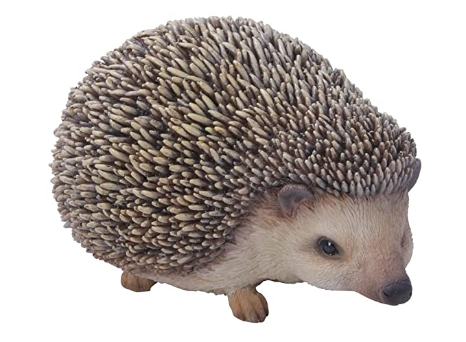 Hi-Line Gift Ltd Sitting Hedgehog Statue