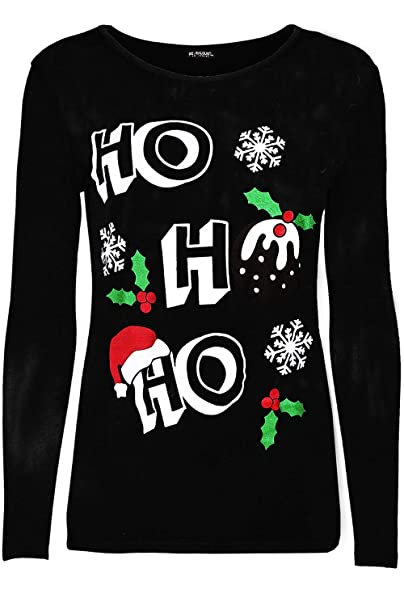 a5d003df219 Be Jealous Womens Ladies Santa Claus Father Suit Belted Costume T Shirt  Christmas Xmas Top UK Plus Size 8-22  Amazon.co.uk  Clothing