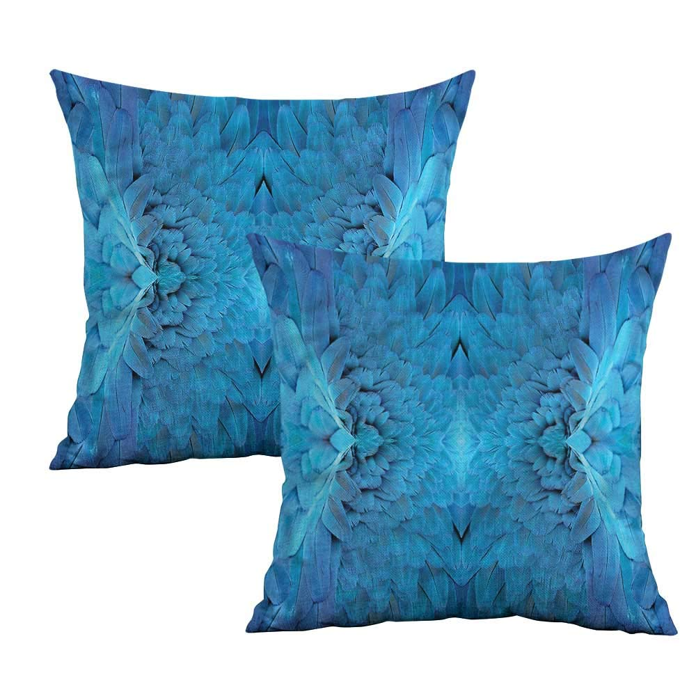 Amazon.com: Khaki home Blue Square Personalized Pillowcase ...
