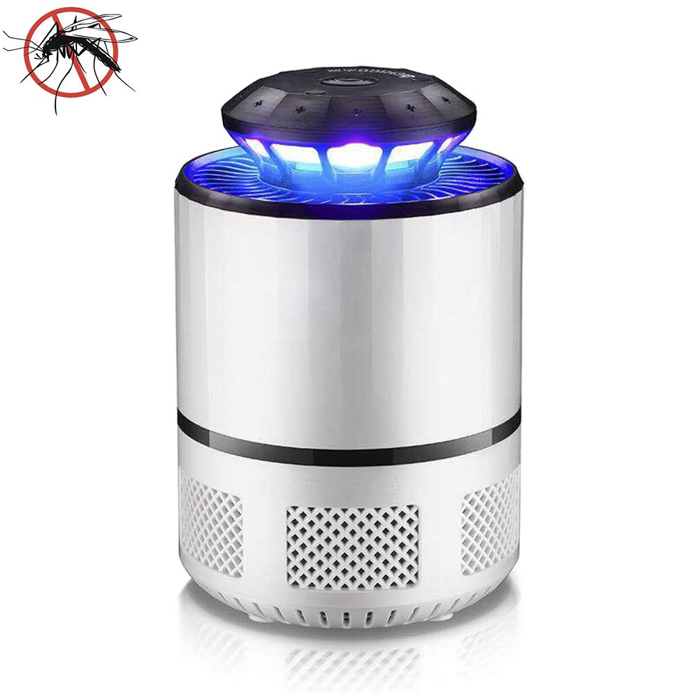 White Electronic Insect Killer, Insect Killer, Insect Repellent lamp, Insect Trap, Electric Insect Trap Light, Indoor and Outdoor Electronic Insect Killer,White