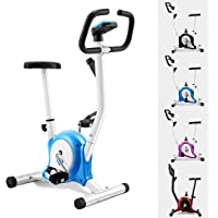 GOPLUS Cyclette da Allenamento casa Spin Bici Bicicletta Indoor Bici da Fitness Home Trainer Bike Excercise Bike Regolabile con Display LCD 120kg
